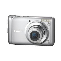 PowerShot A3100IS - 12 Megapixel 4x Optical Zoom Digital Camera (Silver)