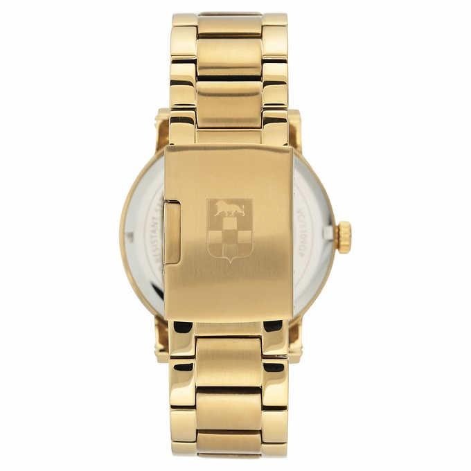 Vince VC/1109BKGP Camuto Gold-Tone Men's Watch