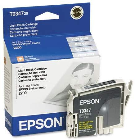 Epson T034720 34 Light Black Ink Catridge