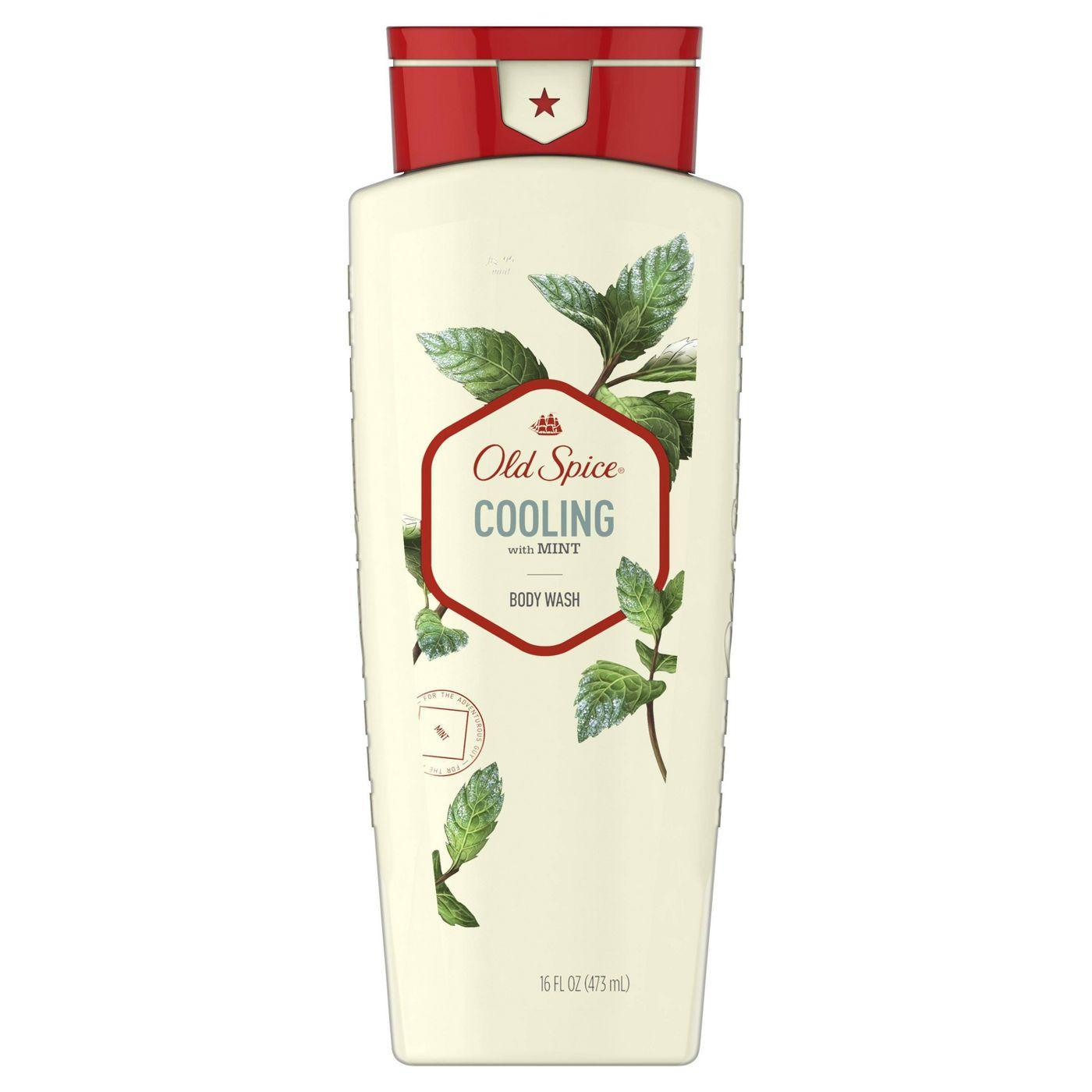 Old Spice Body Wash for Men Inspired by Nature Invigorate With Cooling Mint, 16 fl oz