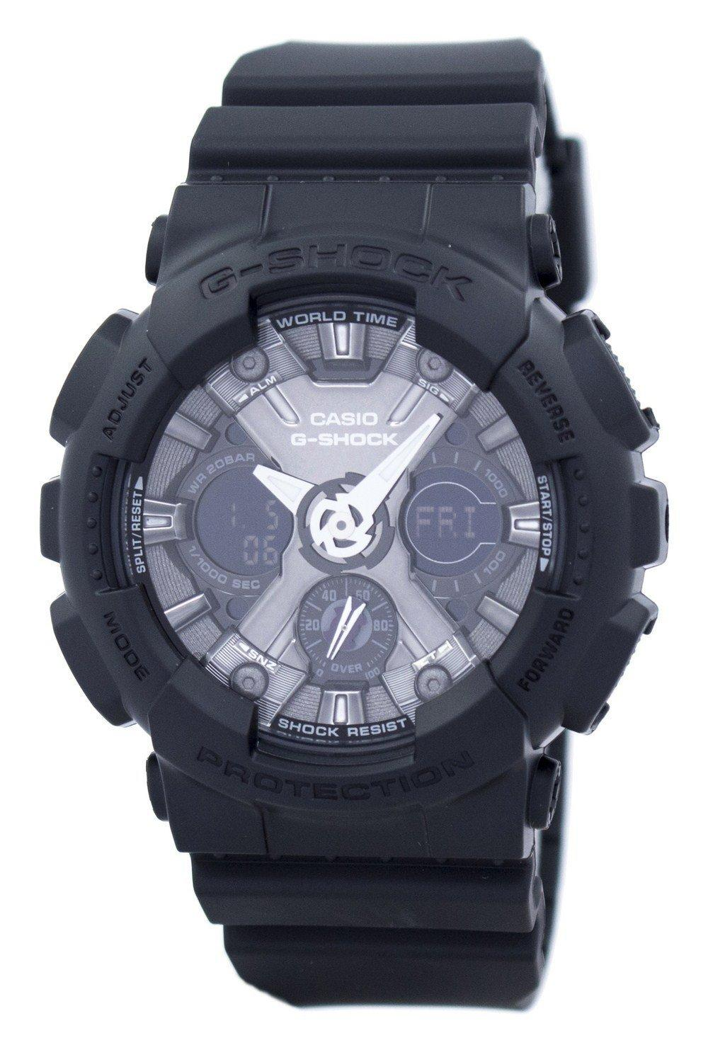 Casio G-Shock S Series Shock Resistant World Time GMA-S120MF-1A GMAS120MF-1A Women's Watch