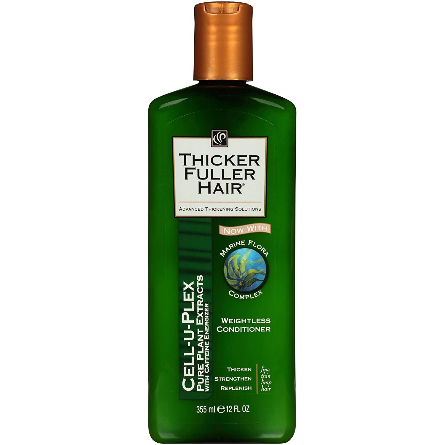 Thicker Fuller Hair Weightless Conditioner Cell-U-Plex, 12 Ounce