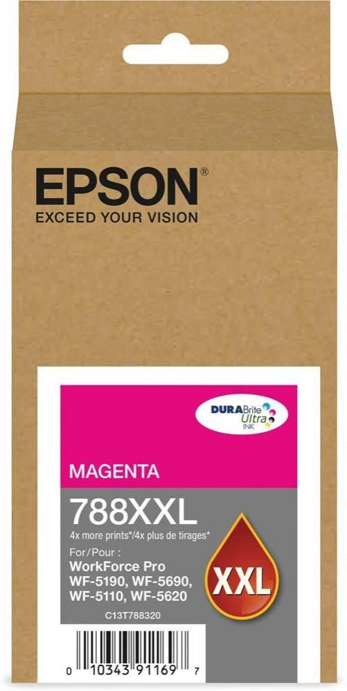 Epson T788XXL320 788XXL Magenta DURABrite Ultra Extra High Capacity  Ink Cartridge