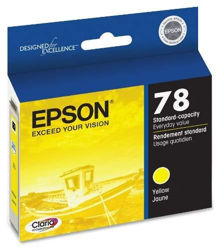 Epson T078420 078 Yellow Claria Hi-Definition 78 Standard-capacity Inkjet Cartridge