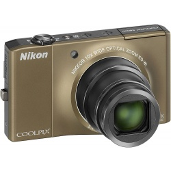 Nikon Coolpix S8000 14.2 MP Digital Camera (Bronze)
