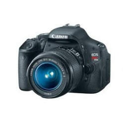 Canon EOS Rebel T3i Digital SLR Camera with Canon EF-S 18-55mm IS II lens