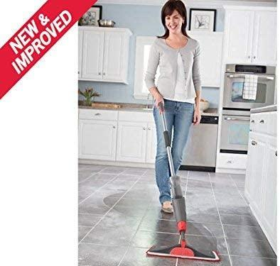 Rubbermaid Reveal Spray Mop, Multi-Surface, Microfiber Pad and Refillable Bottle