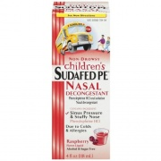 Sudafed PE Nasal Decongestant Child 4oz