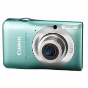 PowerShot SD1300-IS 12.1 Megapixel 4x Optical/4x Digital Zoom Digital Camera (Green)
