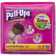 Huggies Pull-Ups Learning Designs Training Paints, 2T-3T, 54 Count