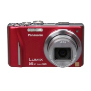 Panasonic Lumix DMC-ZS10 14.1 MP Digital Camera (Red)