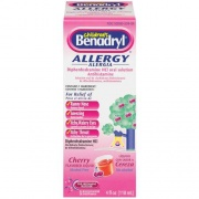 Children's Benadryl Allergy Cherry Flavored 4 oz