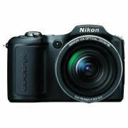 Coolpix L100 10.0 Megapixel 15x Optical Vibration Reduction (VR) Digital Camera (Matte Black)
