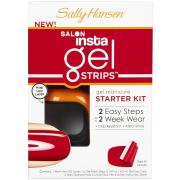 Sally Hansen Salon Insta Gel Strips Starter Kit, Red My Lips