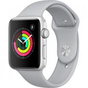 Apple MQL02LL/A Watch Series 3 (GPS) 42mm Silver Aluminum Case with Fog Sport Band - Silver Aluminum