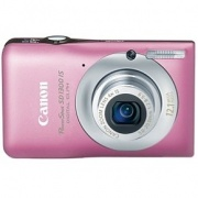PowerShot SD1300-IS 12.1 Megapixel 4x Optical/4x Digital Zoom Digital Camera (Pink)