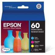 Epson T060120-BCS DURABrite Ultra Black & Color Combo Pack Standard Capacity Cartridge Ink