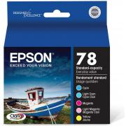 Epson T078920 78 Claria Hi-Definition  Standard-capacity Inkjet Cartridge Color Multipack