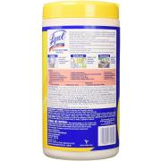 Lysol Disinfecting Wipes, Lemon & Lime Blossom, 80 Count, Pack of 4 (Packaging May Vary)