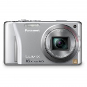 Panasonic Lumix DMC-ZS10 14.1 MP Digital Camera (Silver)