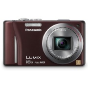Panasonic Lumix DMC-ZS10 14.1 MP Digital Camera (Brown)