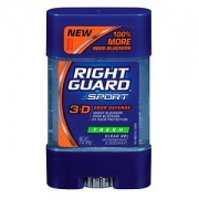 Right Guard Sport 3-D Odor Defense, Antiperspirant & Deodorant Clear Gel, Fresh Scent - 3 oz