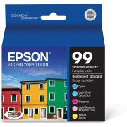 Epson T099920  99 Claria Hi-Definition  Standard-capacity Inkjet Cartridge Color Multipack