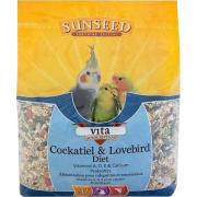 Vita Sunscription Cockatiel & Lovebird Formula