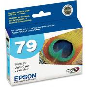 Epson T079520 79 Claria Hi-Definition Light Cyan High Capacity Cartridge Ink