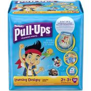 Huggies Pull-Ups Training Pants Learning Designs, Boys, 2T-3T, 54 Count