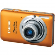 PowerShot 100 HS 12.1 Megapixel 4x Optical Digital ELPH Camera (Orange)